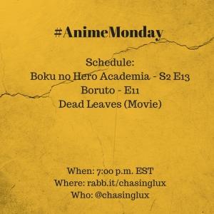 #AnimeMonday (3)